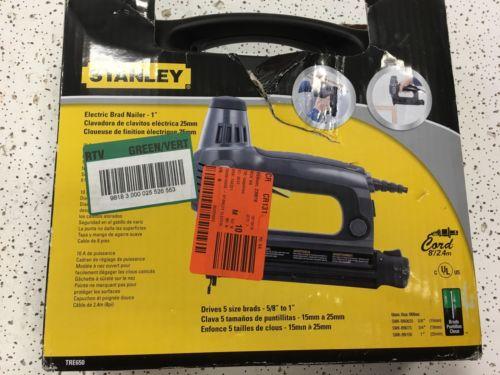 Stanley Electric Brad Nailer (Lot 214)