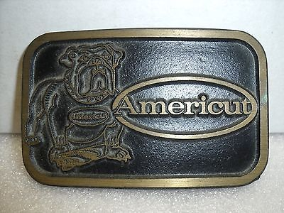 Belt Buckle Dyna Buckle Americut/Weldon Tool roughing end mills USA Provo Utah