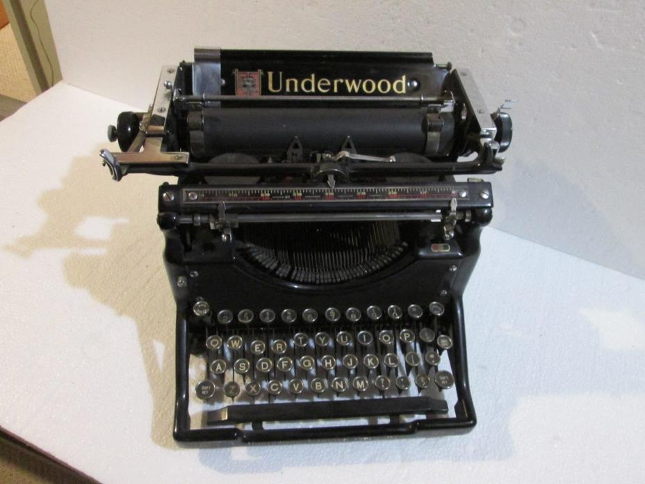 Underwood Typewriter 5 For Sale Classifieds