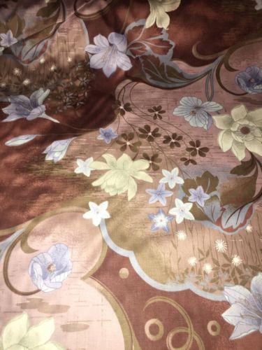 1981 5th Ave VatDye Schreinered Scotchgard Cotton High End Floral Decor Fabric