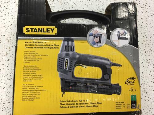 Stanley Electric Brad Nailer (Lot 211)