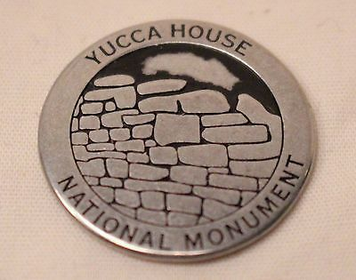 National Park Tokens - Yucca House National Monument Colorado Anasazi