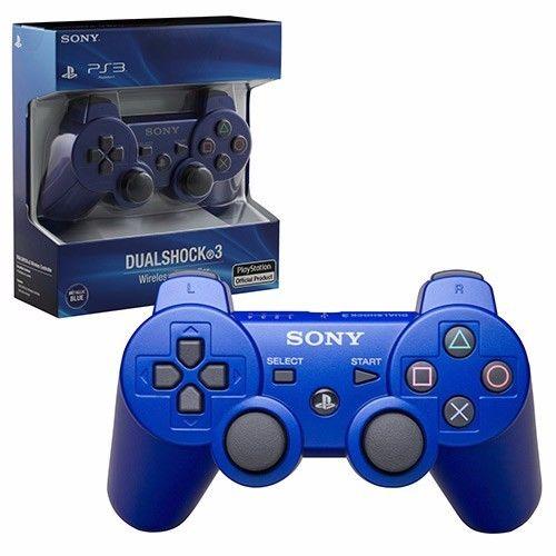PS3 Wireless Dualshock 3 Controller blue read first