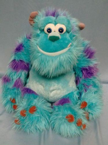 (B-22) Disney Pixar Monster Sulley Plush Stuffed Animal 15