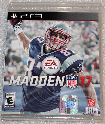 Madden 17 - PS3 Playstation 3 - NEW & SEALED