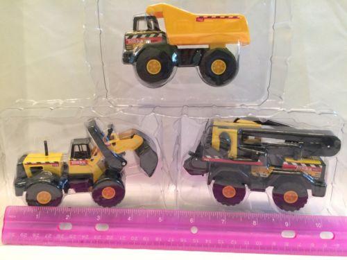 Set Of 3 Tonka Construction Trucks, Toy Trucks