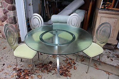 Ethan Allen Beautiful Table Set with 4 Chairs One of a Kind (Needs To Go!!)