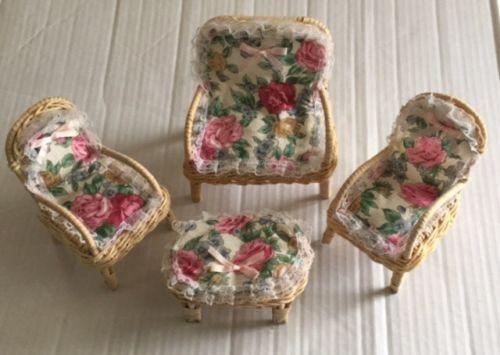 Barbie Wicker Furniture For Sale Classifieds