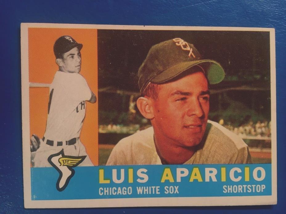1960 Topps Baseball card # 240 Luis Aparicio