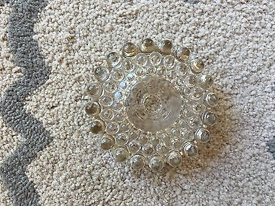 Antique Glass Lamp Shade Holder - 4