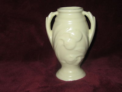Shawnee Pottery 1940s Bud Vase Matte White Bud Vase 5 1/2 inches Tall