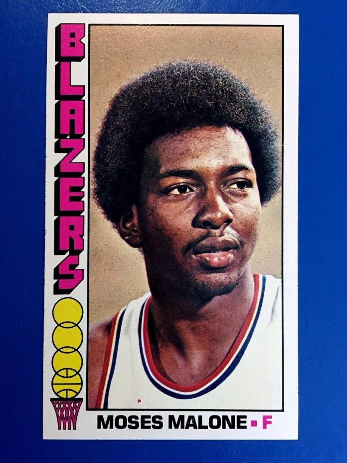 1976-77 Topps #101 Moses Malone