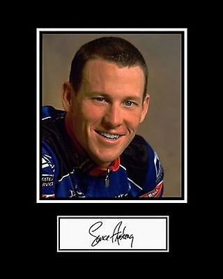 LANCE ARMSTRONG REPLICA SIGNED PHOTO