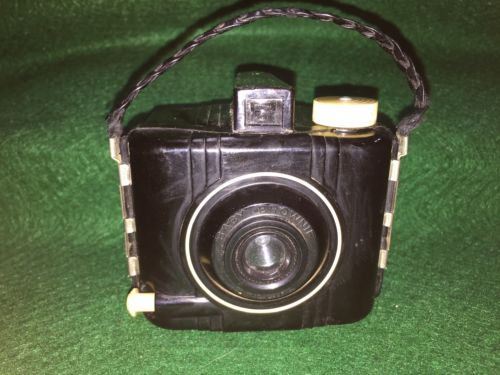 Vintage Kodak Baby Brownie Special Bakelite Box Camera, Old Antique