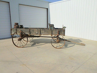 #39 HORSE DRAWN WAGON HARVEST WAGON DISPLAY WAGON