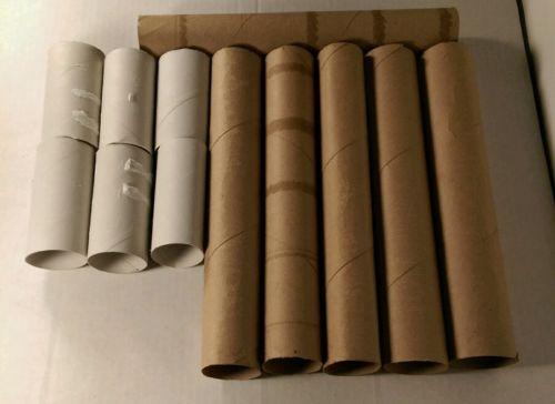 6 Empty Toliet paper rolls,6 Paper towels rolls