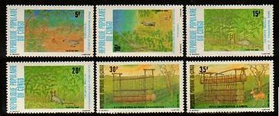 CONGO Sc.# 596-601 Animals and Birds NH Stamps