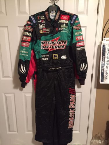 Bobby Labonte Jurassic Park III Interstate Batteries Nascar Drivers Firesuit
