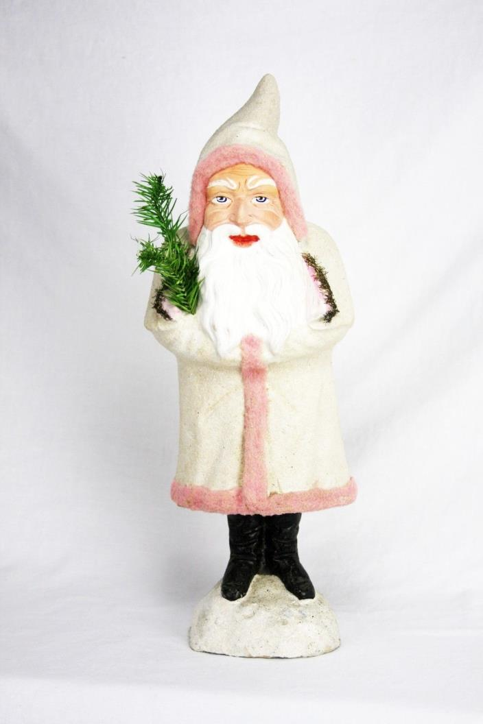 Antique Large German Belsnickle Santa Candy Container ca1910