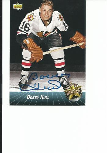 Bobby Hull Rookie Card For Sale Classifieds