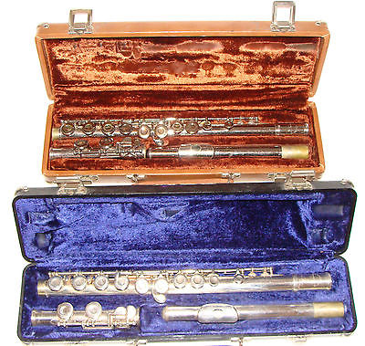 (2) Armstrong Flutes with Cases