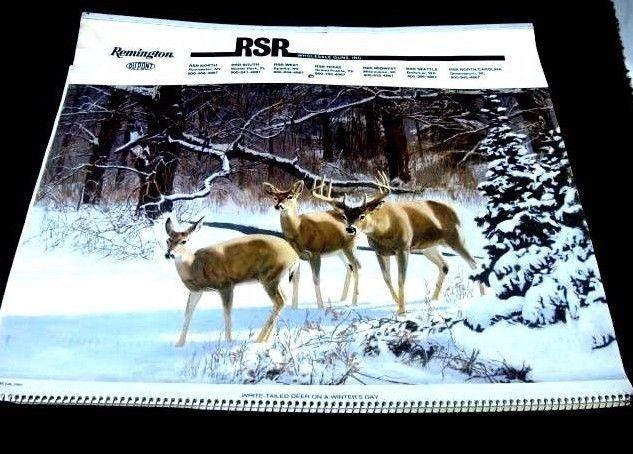 Remington Calendar Art : Vintage wildlife prints for sale classifieds