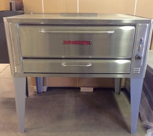 Blodgett Pizza Oven 1048 Stone Deck Gas Refurbished Used