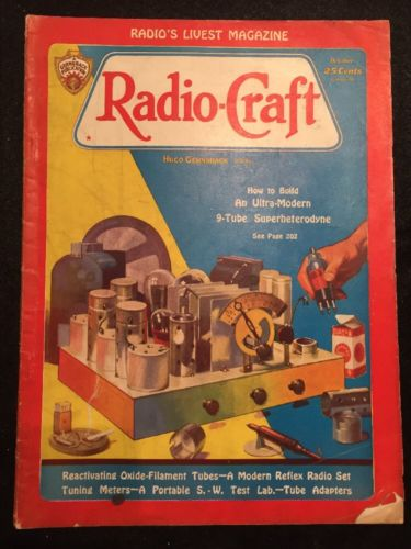 Vintage Radio-Craft Magazine October 1932