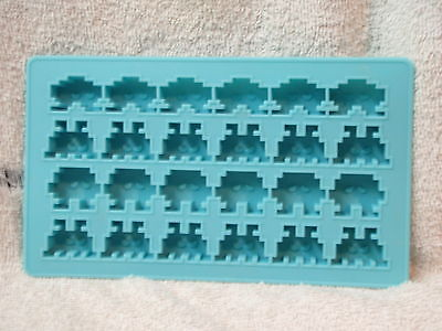 Space Invaders Silicone Jello  Ice Cube  Chocolate  Mold
