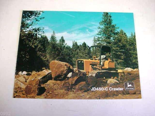 John Deere 450C Crawler Loader & Dozer Sales Brochure !