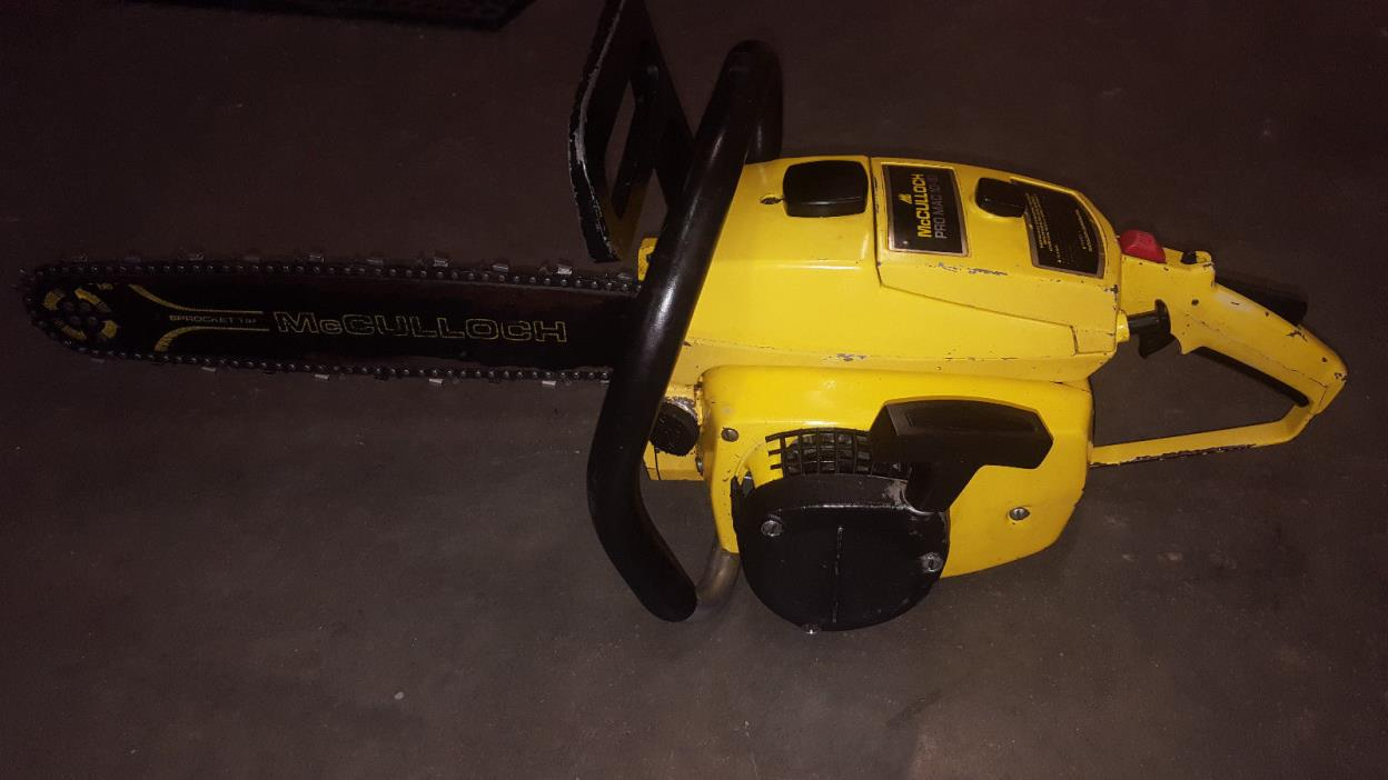 MCCULLOCH PRO MAC 10-10 CHAINSAW *CLEAN*