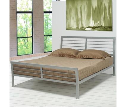 Queen Size Metal Platform Bed