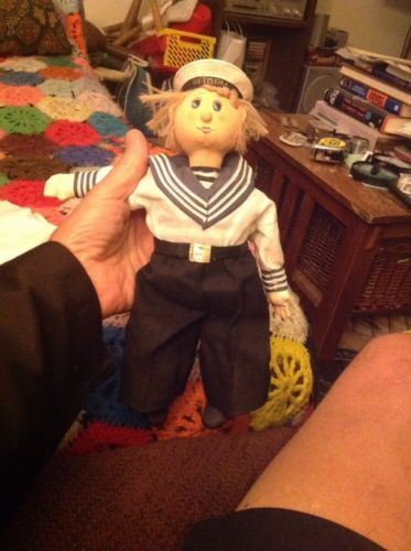 Vintage Sailor Doll WTOPM.?