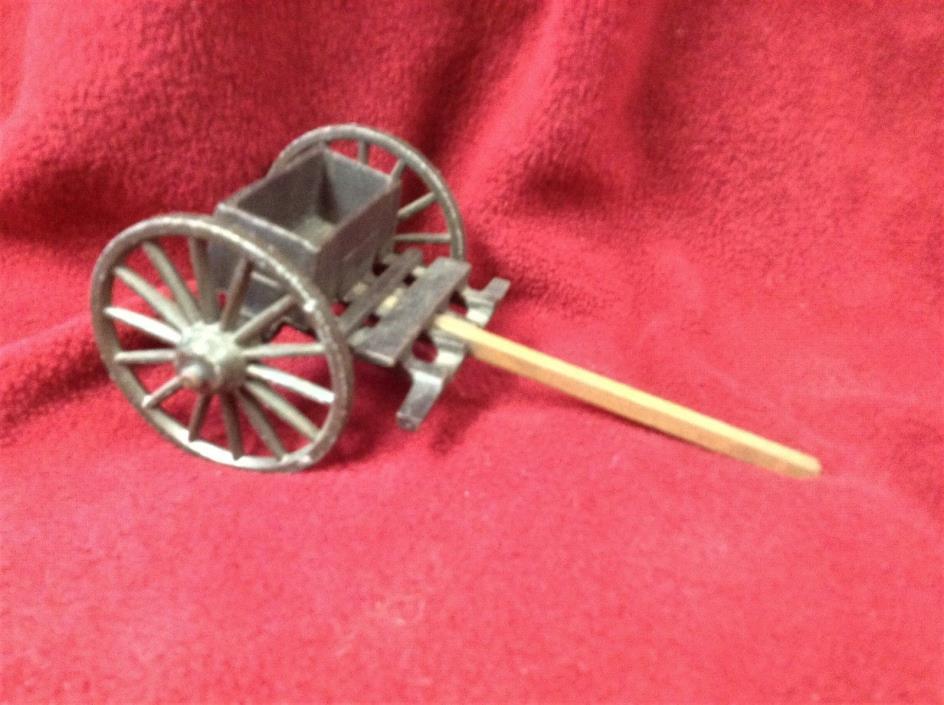Cast Iron 2 wheel toy cart