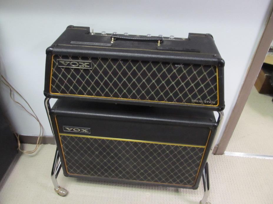 1960`s VOX Super Berkeley III V1083 Guitar Amplifier Head, V4083 Speaker, Rack