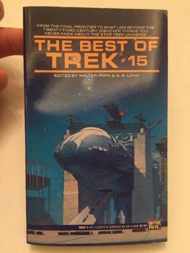 The Best Of Trek #15 Walter Irwin 1990 Paperback Book HIGH GRADE UNREAD