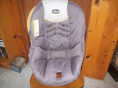 Chicco Infant Seat Cover Replacement for Chicco KeyFit Car Seat Brown
