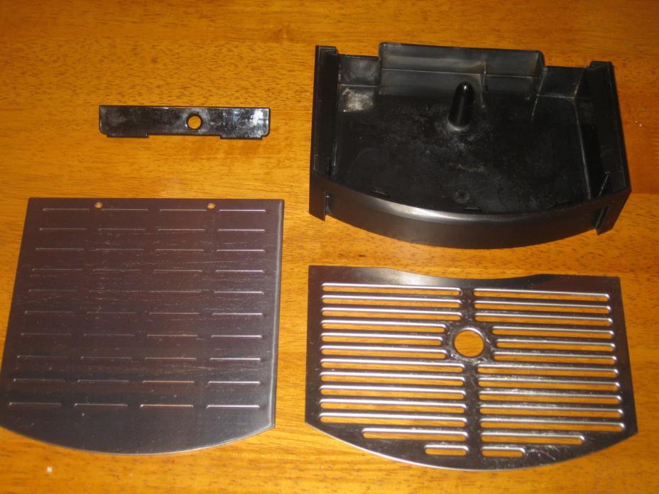 NESPRESSO D150 Coffee Espresso Maker Drip Tray Plate Grill Grate Cover Lid Parts