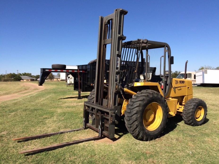 JCB 930 Forklift Rough Terrain 4wd Nice