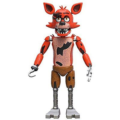 Action Toy Figures Funko Five Nights at Freddys Articulated Foxy Action Figure,