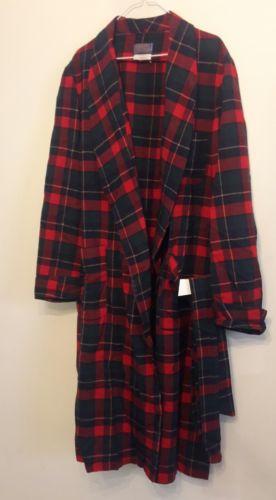 Vintage Pendleton Mens 100% Wool Boyd Tartan Plaid Bath Robe L Sir Pendleton USA