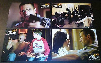 Lobby Card 4 lot~ RUNNING SCARED 2006 ~Paul Walker ~Vera Farmiga ~Cameron Bright