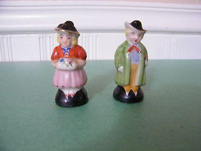 Vintage Dutch Man & Woman (Japan) Salt & Pepper Shaker Set