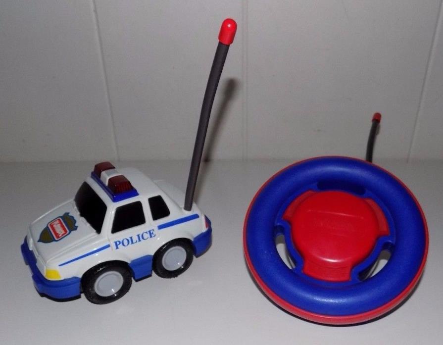 Vintage Playskool Radio Control Police Car Cruiser