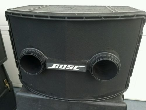 BOSE 802 SERIES II MAIN / STEREO SPEAKERS + BOSE 802C CONTROLLER (2) No Covers