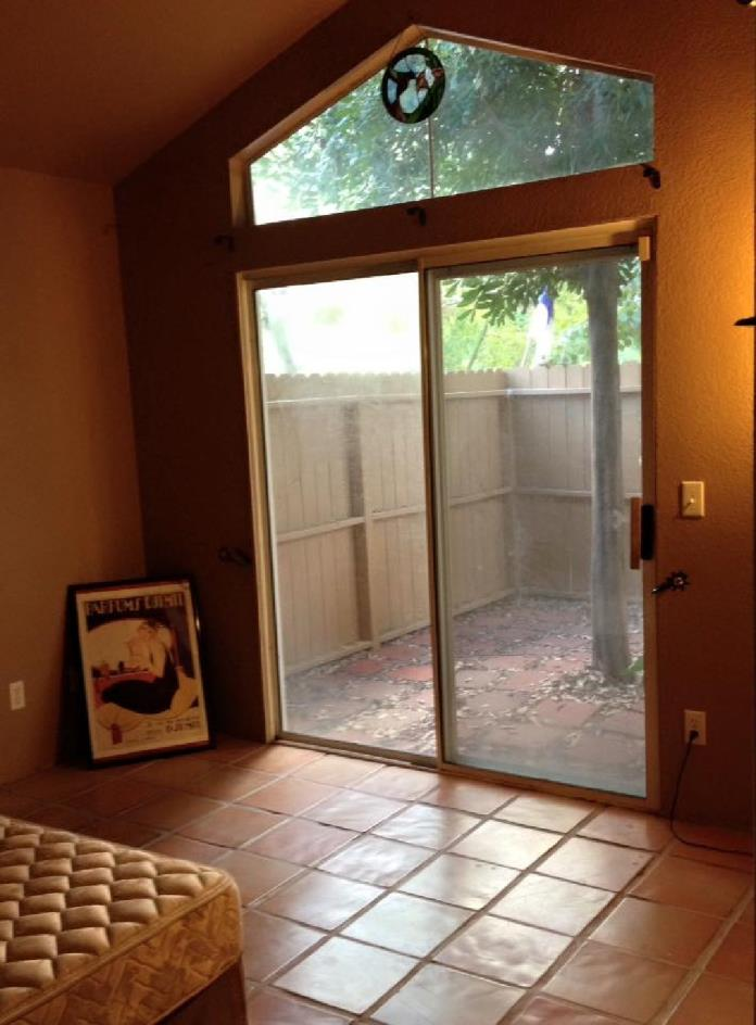 Room for rent with private patio