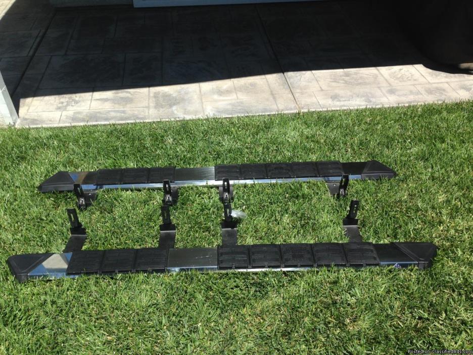Running boards Iron cross