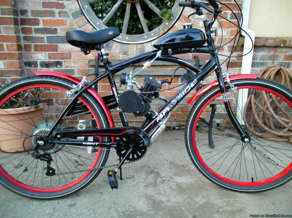 motorized kent bayside crusier bicycle