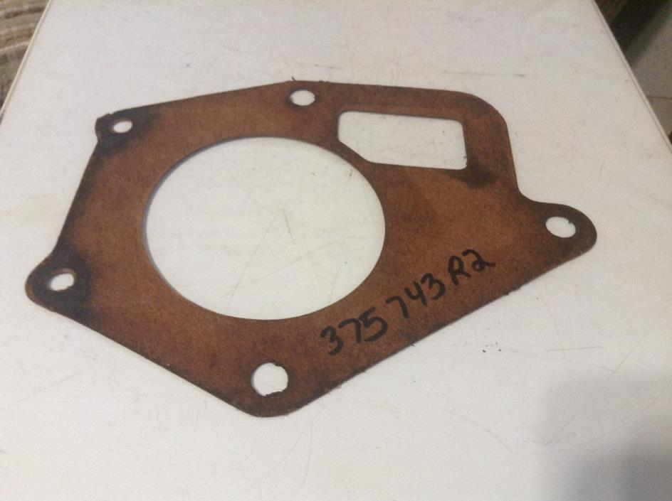 375743R2 - A Used Water Pump Gasket For A Farmall 140, 404, 424, 444 Tractors