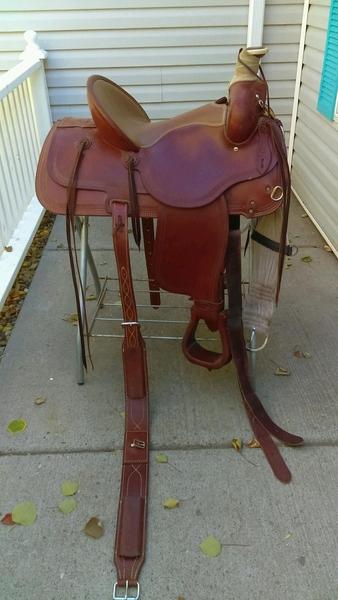 Y-L Saddlery Saddle 16
